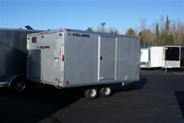 2020 Polaris Trailers PES101x16 DL LM in Marshall, Texas - Photo 3