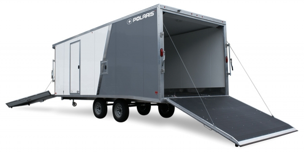 2021 Polaris Trailers PES101x22 DL LM in Yuba City, California - Photo 1