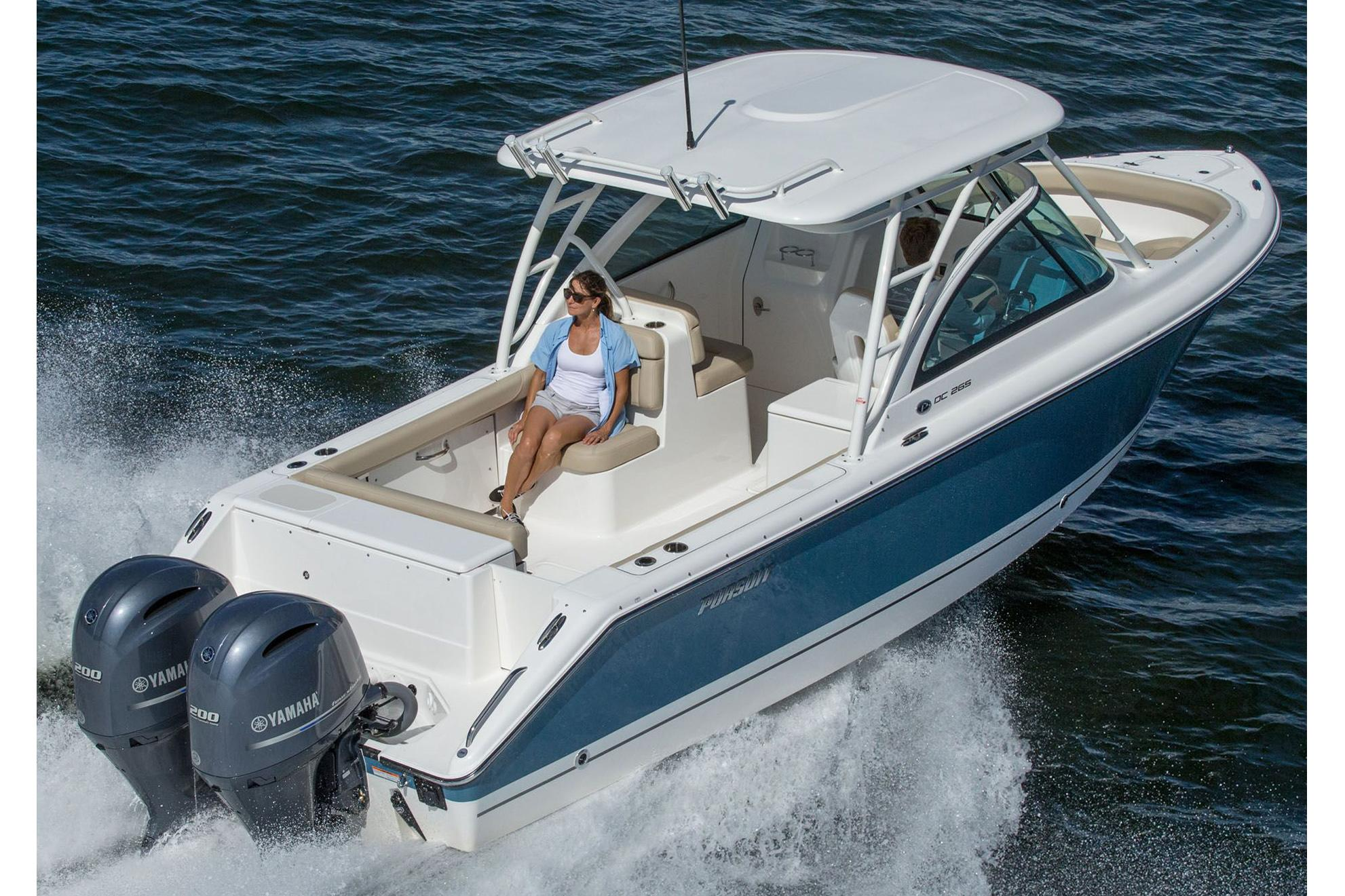 2015 Pursuit DC 265 Dual Console in Madisonville, Louisiana
