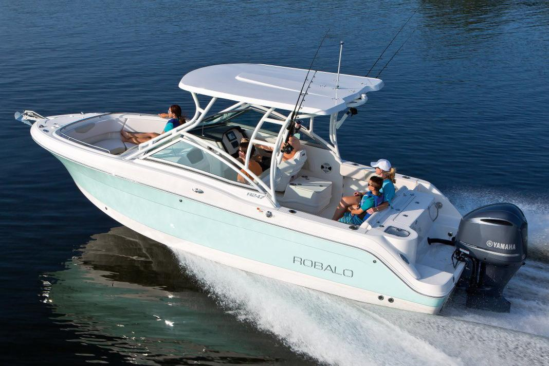2017 Robalo R247 Dual Console in Round Lake, Illinois