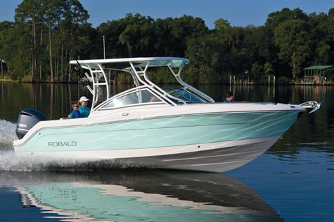 2018 Robalo R247 Dual Console in Round Lake, Illinois