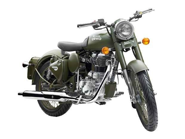 2016 Royal Enfield Classic Battle Green in Oakland, California