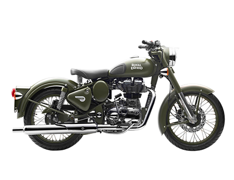 2017 Royal Enfield Classic Battle Green in Oakland, California