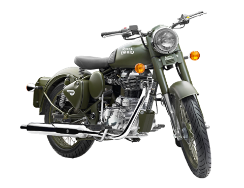 2017 Royal Enfield Classic Battle Green in Enfield, Connecticut
