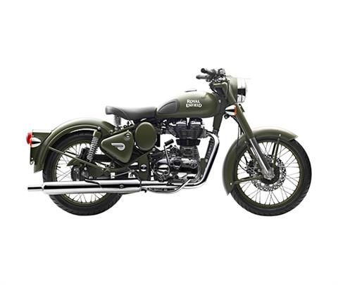 2017 Royal Enfield Classic Battle Green in Oklahoma City, Oklahoma