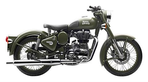2018 Royal Enfield Classic Military ABS in Burlington, Washington