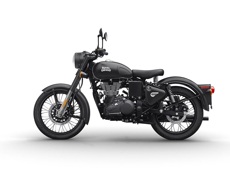 2018 Royal Enfield Classic Stealth Black ABS in Tarentum, Pennsylvania