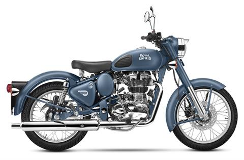 2019 Royal Enfield Classic 500 Squadron Blue in Mahwah, New Jersey