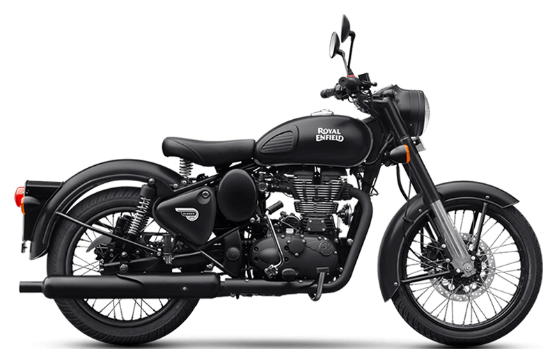 2019 Royal Enfield Classic 500 Stealth Black in Burlington, Washington - Photo 1