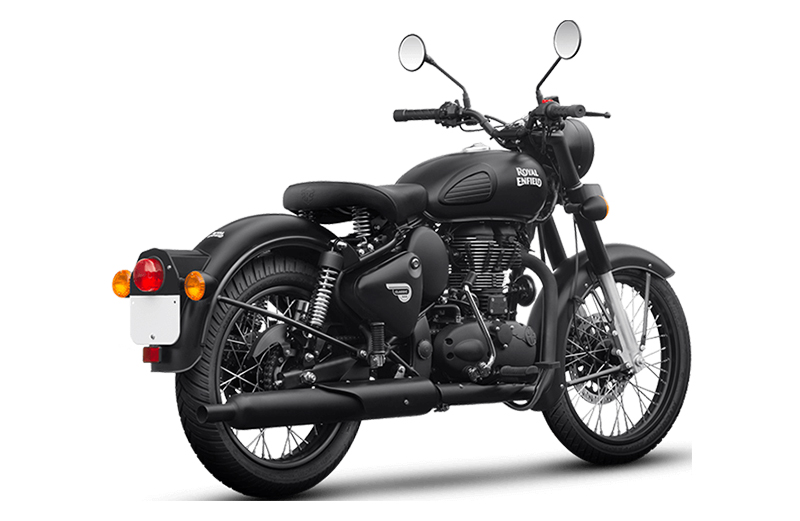 2019 Royal Enfield Classic 500 Stealth Black in Tarentum, Pennsylvania - Photo 2