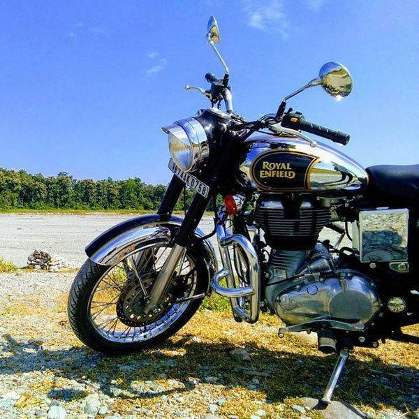 2019 Royal Enfield Classic 500 Chrome ABS in Kent, Connecticut - Photo 8