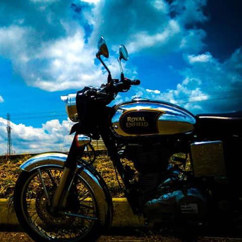 2019 Royal Enfield Classic 500 Chrome ABS in Kent, Connecticut - Photo 9