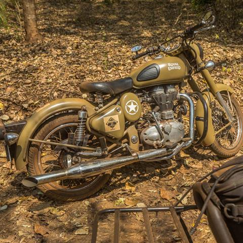 2019 Royal Enfield Classic Military ABS in Muskego, Wisconsin - Photo 8