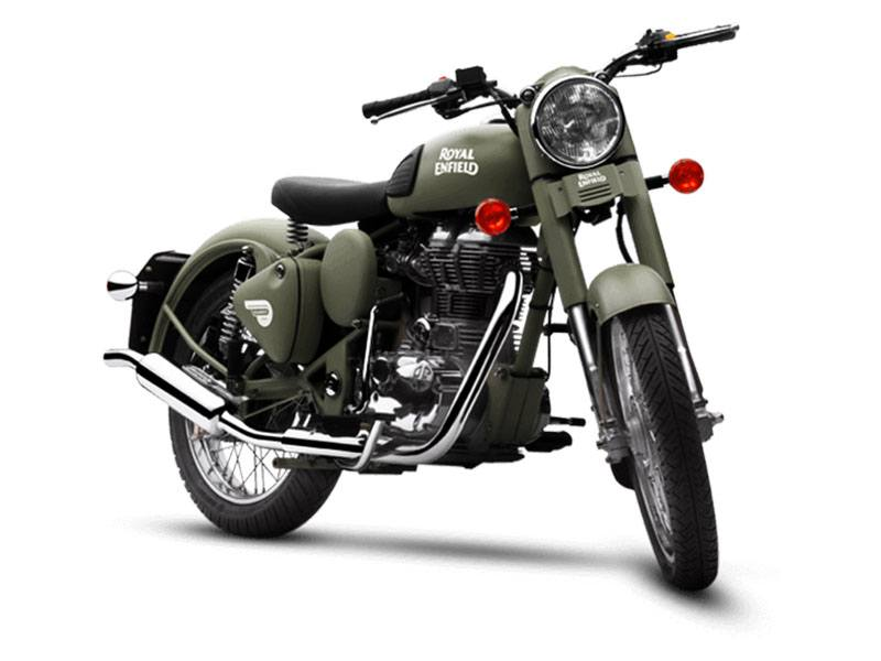 2019 Royal Enfield Classic Military ABS in Brea, California - Photo 2