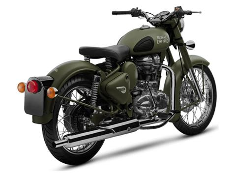 2019 Royal Enfield Classic Military ABS in Brea, California - Photo 3