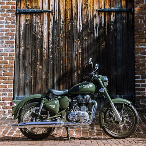 2019 Royal Enfield Classic 500 Battle Green in Burlington, Washington - Photo 4