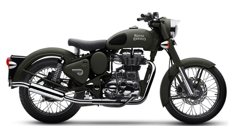 2020 Royal Enfield Classic 500 Battle Green in Oakdale, New York - Photo 1