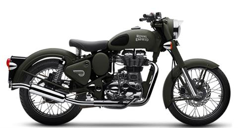 2020 Royal Enfield Classic 500 Battle Green in Mahwah, New Jersey