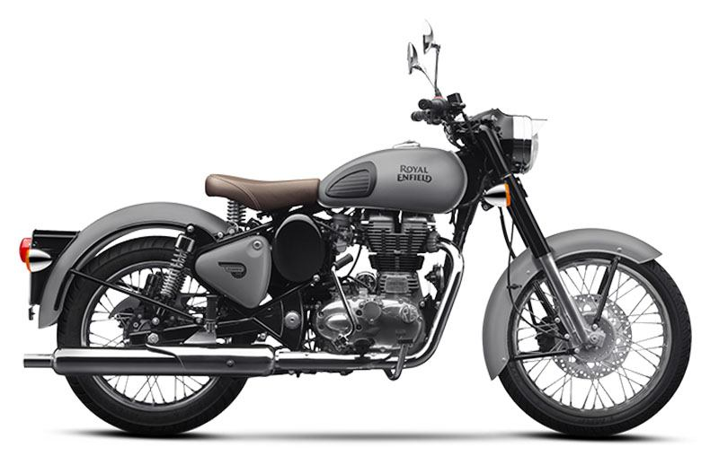 2020 Royal Enfield Classic 500 Gunmetal Grey in Aurora, Ohio - Photo 1