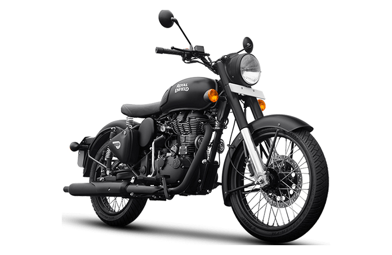 2020 Royal Enfield Classic 500 Stealth Black in Tarentum, Pennsylvania - Photo 3