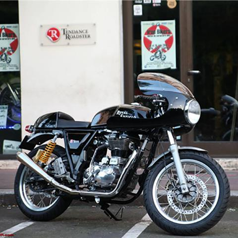 2021 Royal Enfield Continental GT 650 in Iowa City, Iowa - Photo 9