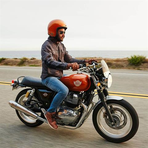 2021 Royal Enfield INT650 in Oakdale, New York - Photo 9