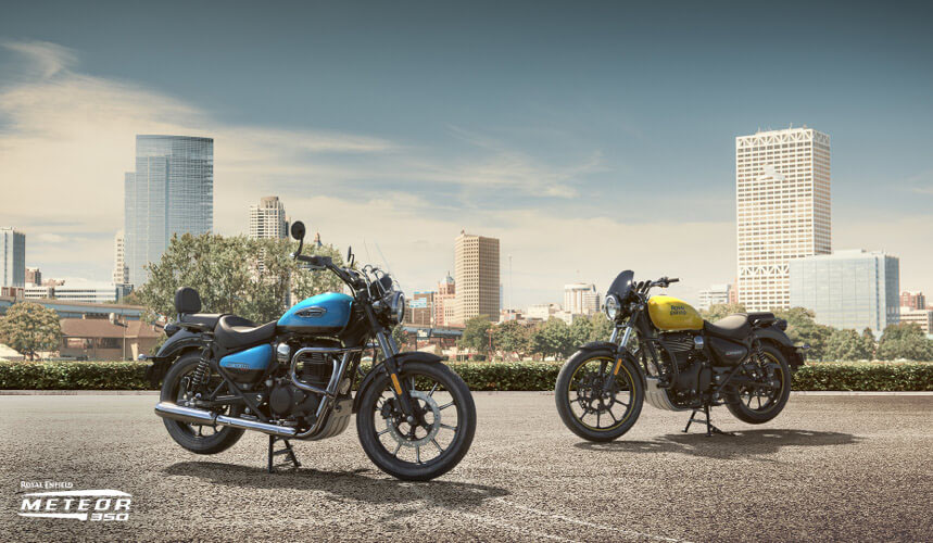 2021 Royal Enfield Meteor 350 in Enfield, Connecticut - Photo 9