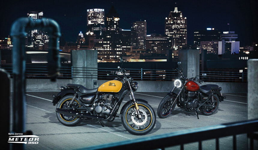 2021 Royal Enfield Meteor 350 in Fort Myers, Florida - Photo 2