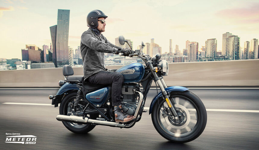 2021 Royal Enfield Meteor 350 in Fort Myers, Florida - Photo 4