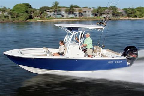 2018 Sea Born LX22 Center Console in Holiday, Florida - Photo 1