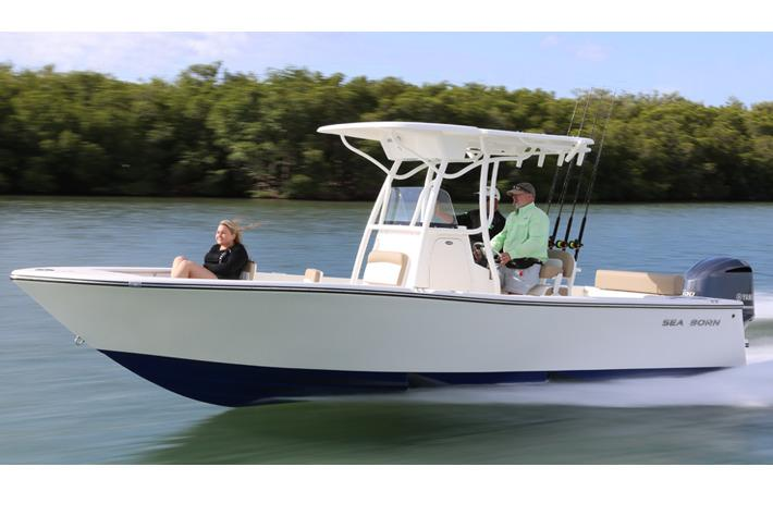 2018 Sea Born LX24 Center Console in Holiday, Florida