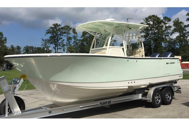 2018 Sea Born SX281 Offshore in Holiday, Florida
