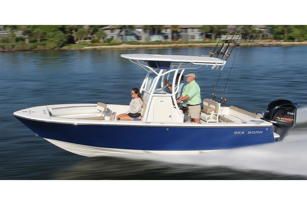 2019 Sea Born LX22 Center Console in Holiday, Florida - Photo 1