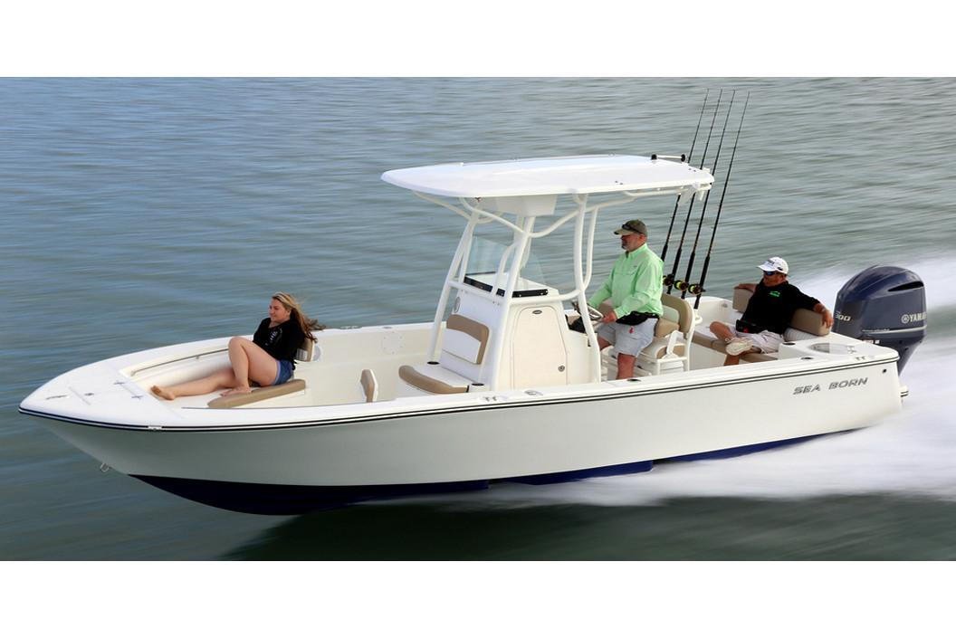 2019 Sea Born LX24 Center Console in Holiday, Florida - Photo 1