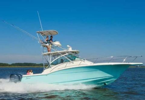 2012 Scout Boats 350 Abaco in Ontario, California