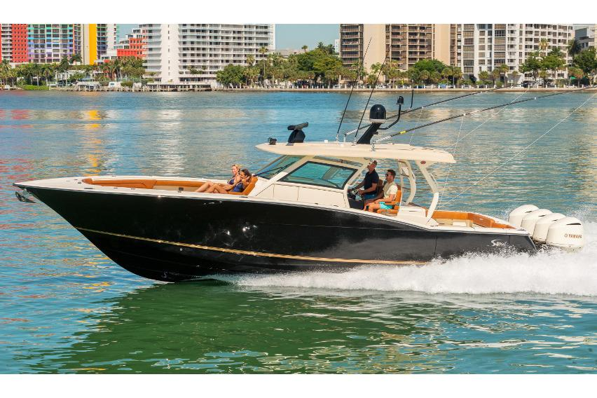 2017 Scout Boats 420 LXF in Ontario, California