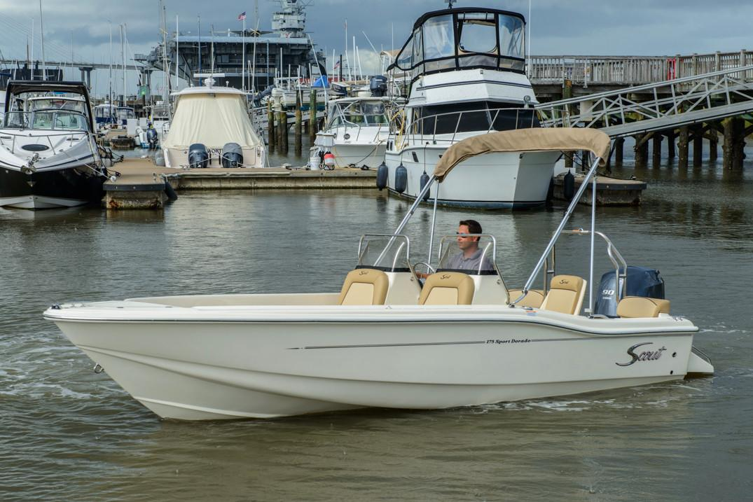 2018 Scout Boats 175 Sport Dorado in Bridgeport, New York