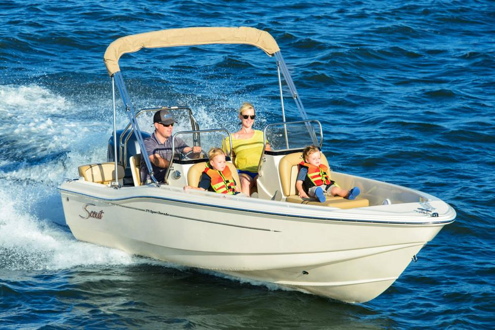 2018 Scout Boats 175 Sport Dorado in Bridgeport, New York - Photo 2