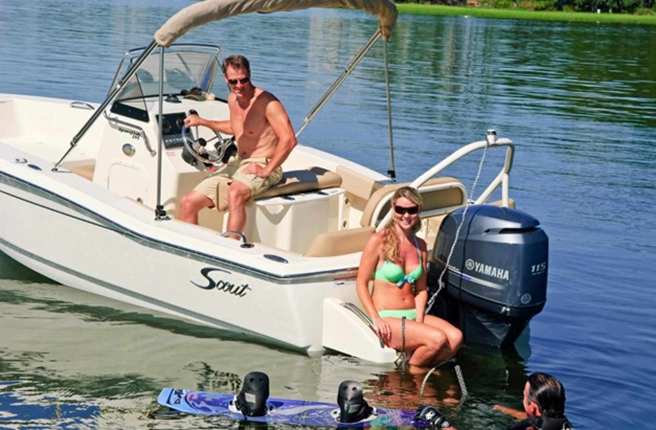 2018 Scout Boats 195 Sportfish in Bridgeport, New York