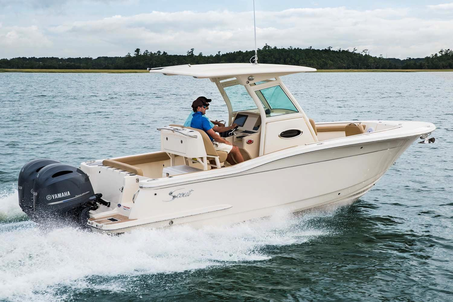 2018 Scout Boats 255 LXF in Ontario, California