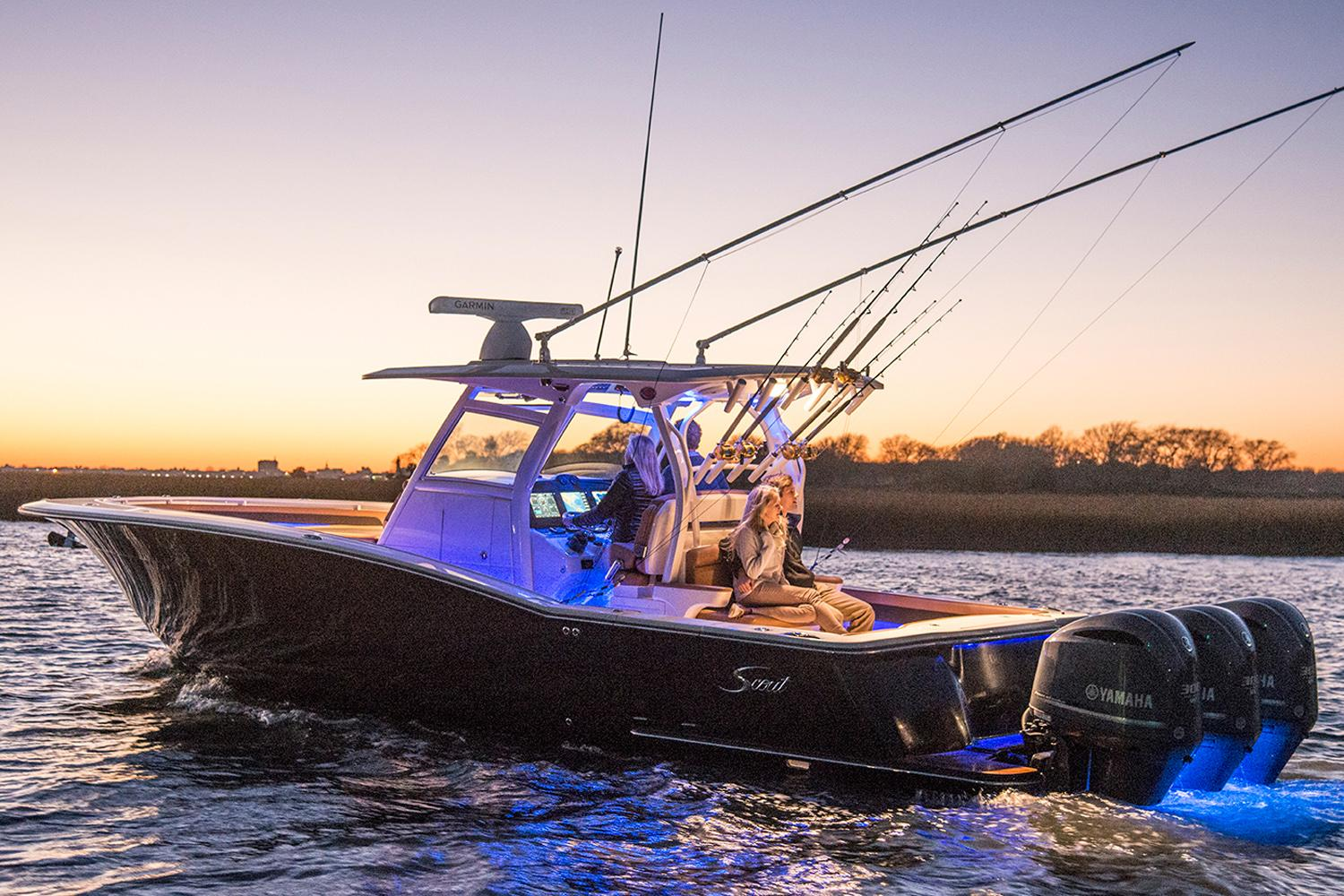 2018 Scout Boats 350 LXF in Ontario, California
