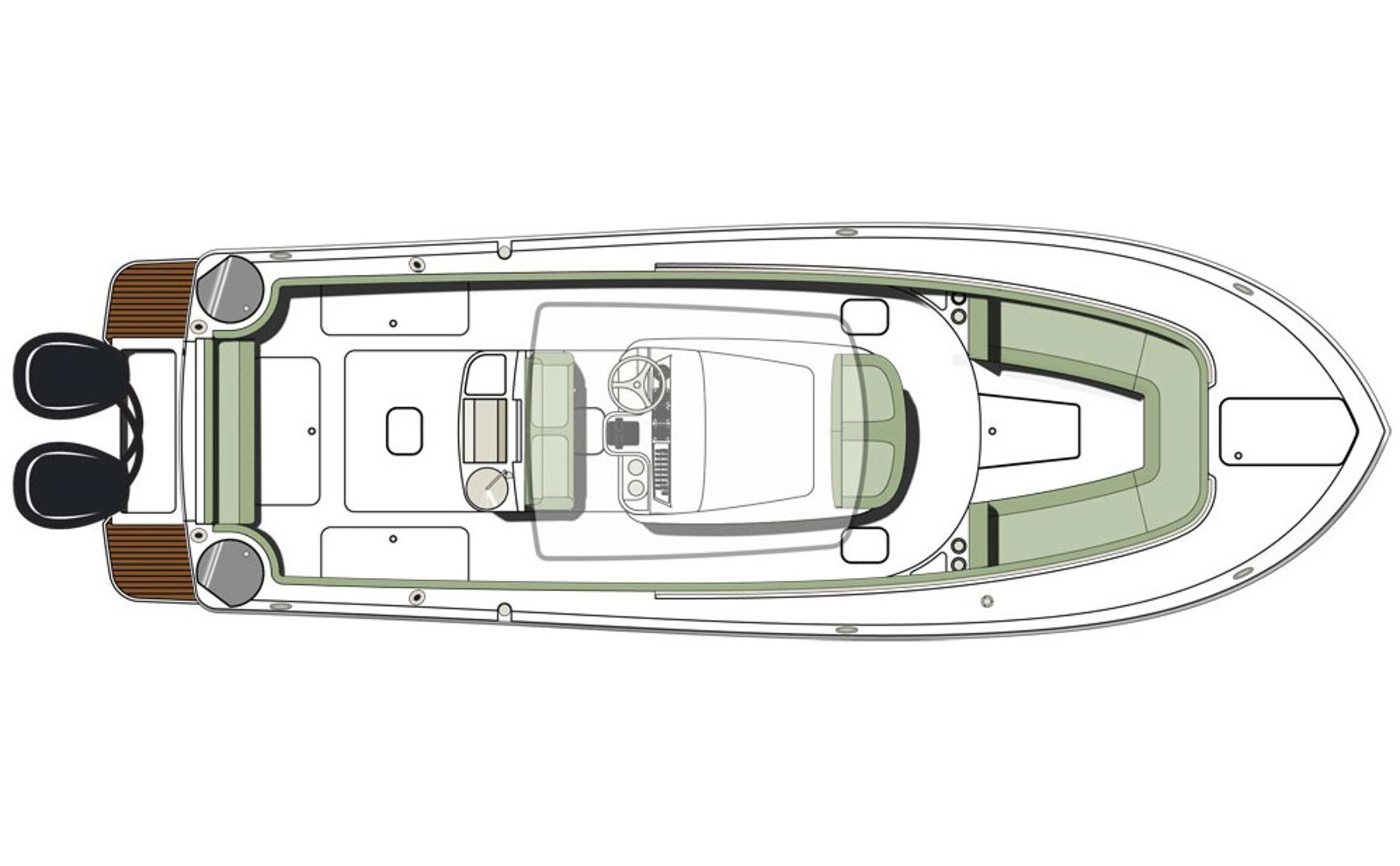 2018 Scout Boats 275 LXF in Bridgeport, New York