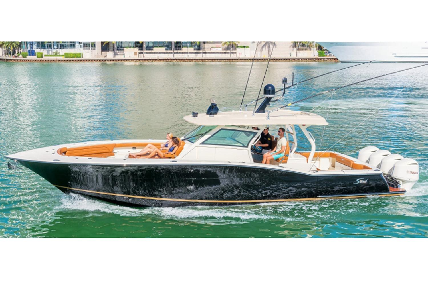 2018 Scout Boats 420 LXF in Ontario, California