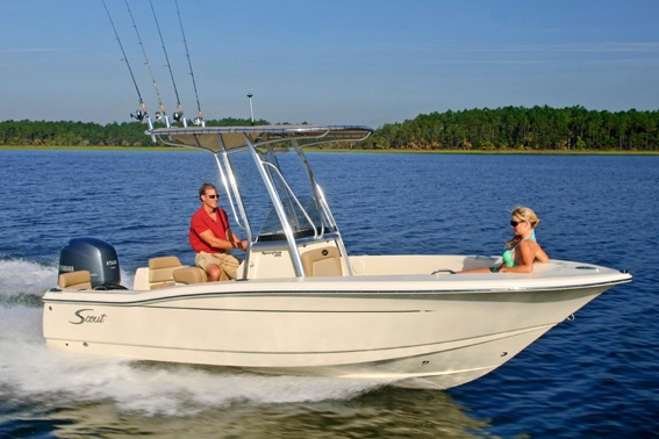 2019 Scout Boats 195 Sportfish in Bridgeport, New York - Photo 1