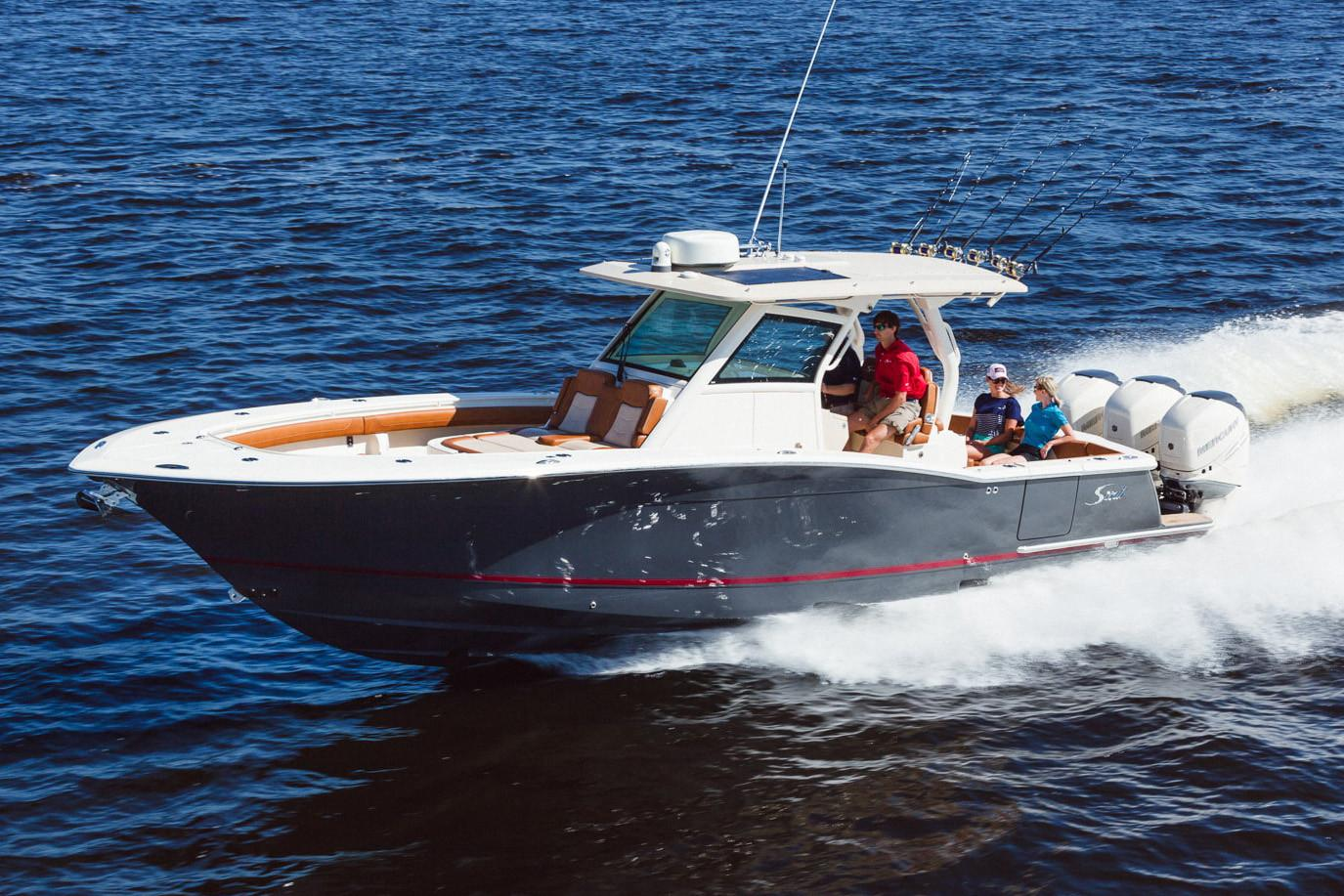 2019 Scout Boats 355 LXF in Bridgeport, New York - Photo 1