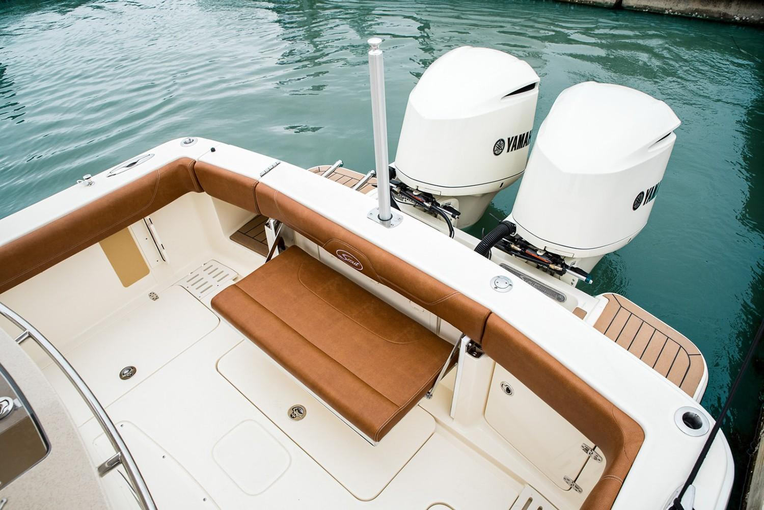 2019 Scout Boats 300 LXF in Bridgeport, New York - Photo 8
