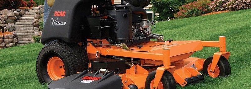 New 2017 SCAG Power Equipment V-Ride (SVR48V-22FX) Lawn Mowers in