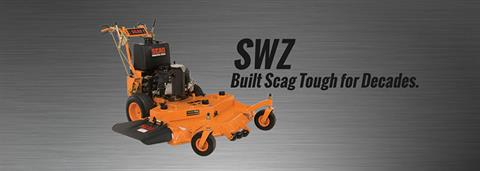 2017 SCAG Power Equipment SW Hydro-Drive (SWZ52V-22FSE Large Frame, Electric Start) in Marietta, Georgia