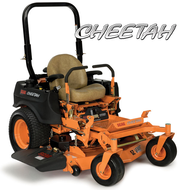 2017 SCAG Power Equipment Cheetah - 48 in. / 52 in. (SCZ48V-28BS*) in New Braunfels, Texas
