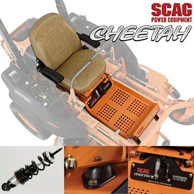 2017 SCAG Power Equipment Cheetah - 48 in. / 52 in. (SCZ48V-28BS*) in Red Wing, Minnesota